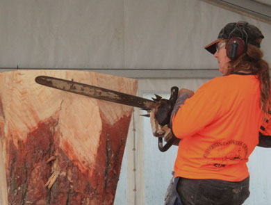 Chainsaw Carving Championships 2017